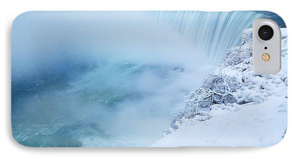 Niagara Falls In Winter Phone Case by Oleksiy Maksymenko