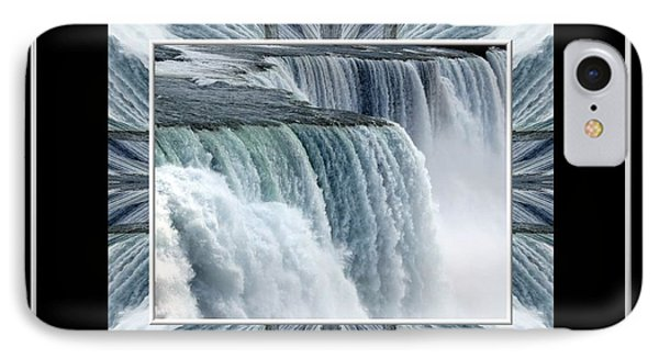 Niagara Falls Seas And Rivers Bless The Lord Praise And Exalt Him Above All Forever Phone Case by Rose Santuci-Sofranko