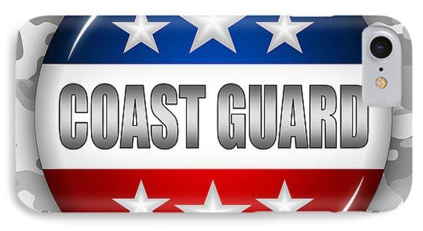 Nice Coast Guard Shield 2 Phone Case by Pamela Johnson