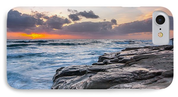 Night Falls IPhone Case by Peter Tellone