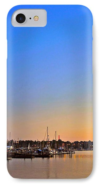 Night Fishing Phone Case by Frozen in Time Fine Art Photography