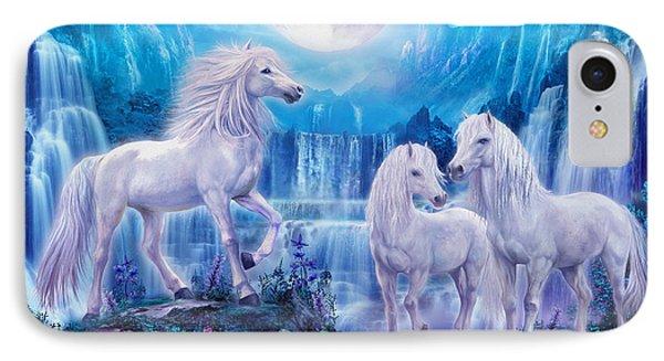 Night Horses IPhone 7 Case by Jan Patrik Krasny