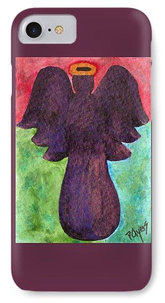Night Shift Angel IPhone Case by Paula Ayers