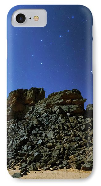 Night Sky Over The Sahara Desert IPhone Case by Babak Tafreshi