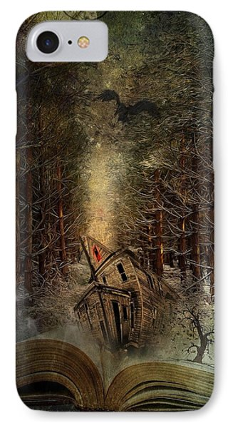 Night Story IPhone Case by Svetlana Sewell
