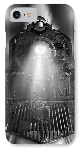 Night Train On The Move IPhone Case by Mike McGlothlen