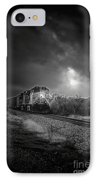 Night Train Phone Case by Robert Frederick