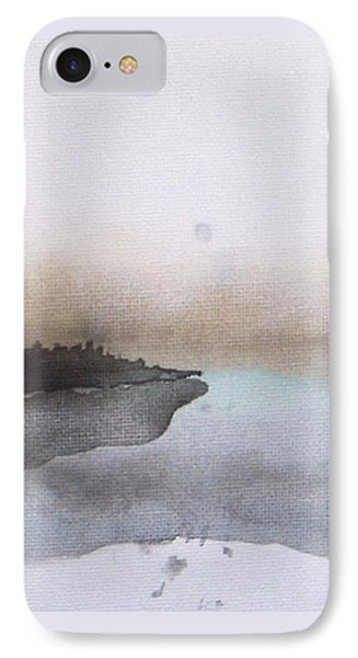 Nightfall On The Lake  IPhone Case by Vesna Antic