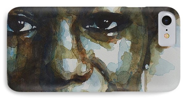 Nina Simone IPhone 7 Case by Paul Lovering