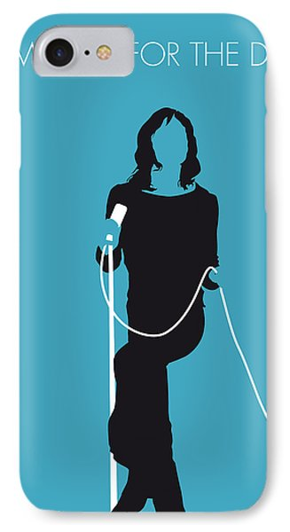No005 My The Stones Minimal Music Poster Phone Case by Chungkong Art