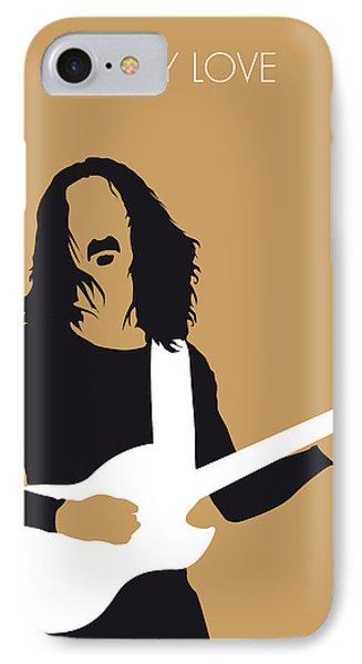 No040 My Frank Zappa Minimal Music Poster IPhone Case by Chungkong Art