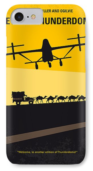No051 My Mad Max 3 Beyond Thunderdome Minimal Movie Poster IPhone Case by Chungkong Art