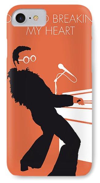 No053 My Elton John Minimal Music Poster IPhone 7 Case by Chungkong Art