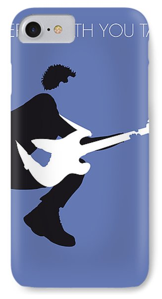 No058 My The Police Minimal Music Poster IPhone Case by Chungkong Art
