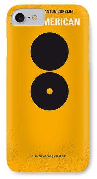 No088 My The American Minimal Movie Poster IPhone Case by Chungkong Art