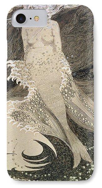 The Mermaid IPhone Case by Sidney Herbert Sime