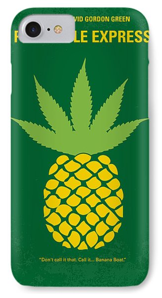 No264 My Pineapple Express Minimal Movie Poster IPhone 7 Case by Chungkong Art