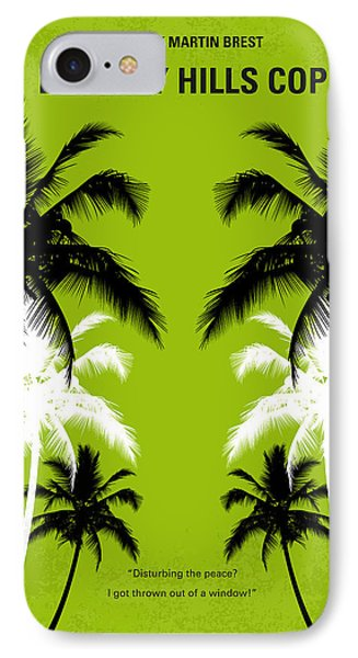 No294 My Beverly Hills Cop Minimal Movie Poster IPhone 7 Case by Chungkong Art