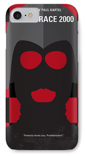 No367 My Death Race 2000 Minimal Movie Poster IPhone Case by Chungkong Art