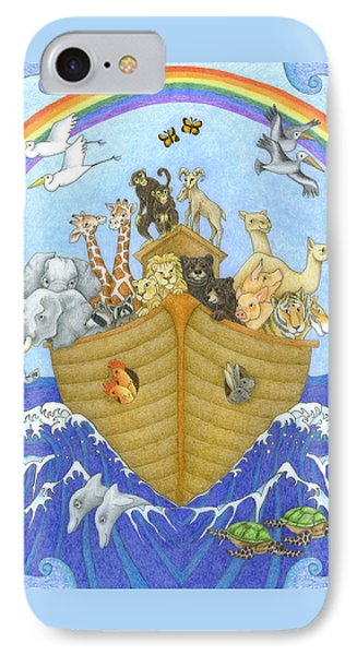 Noah's Ark Phone Case by Alison Stein