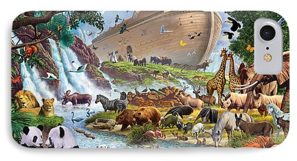 Noahs Ark - The Homecoming IPhone Case by Steve Crisp