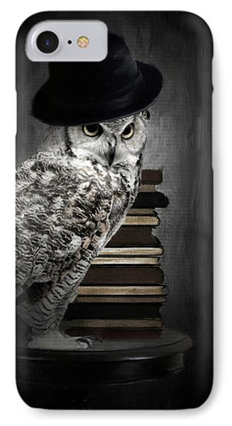Noble One IPhone Case by Lourry Legarde