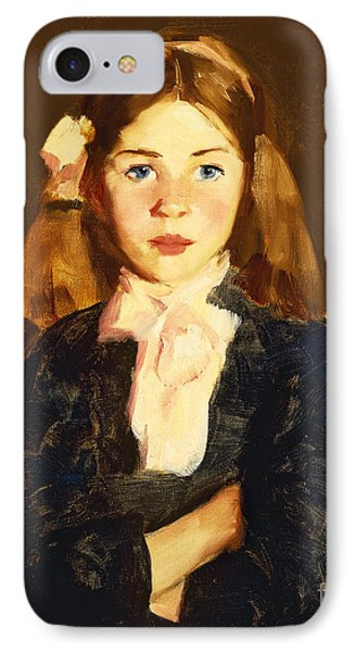Nora IPhone Case by Robert Henri