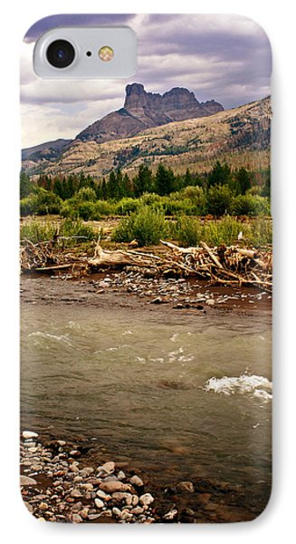 North Of Dubois 2 Phone Case by Marty Koch