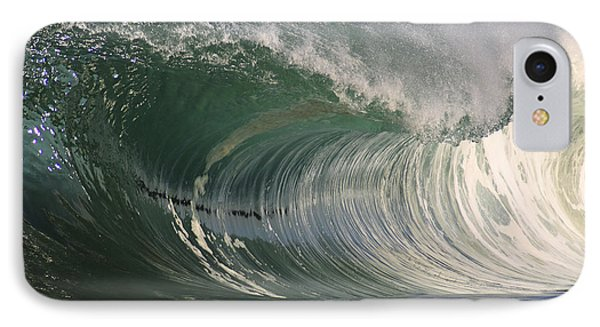North Shore Powerful Wave Phone Case by Vince Cavataio