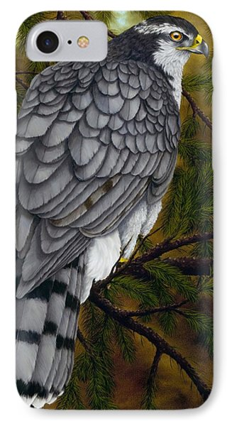 Northern Goshawk IPhone Case by Rick Bainbridge