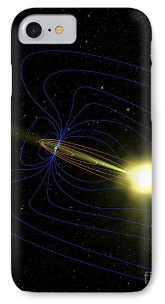 Northern Lights Explained, Artwork IPhone Case by Nasa
