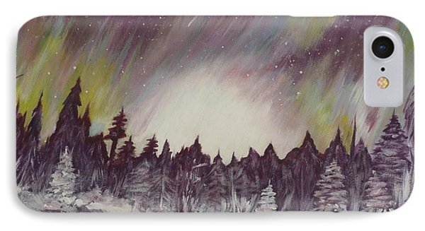 Northern Lights  Phone Case by Irina Astley