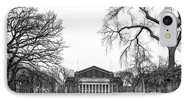 Northrop Auditorium At The University Of Minnesota IPhone Case by Tom Gort