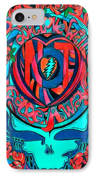 Not Fade Away Two IPhone Case by Kevin J Cooper Artwork