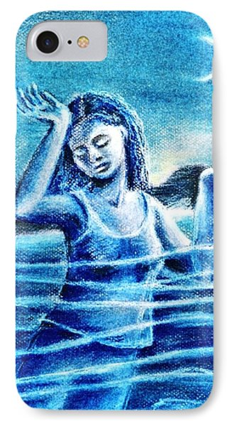 Not Waving But Drowning Phone Case by Trudi Doyle