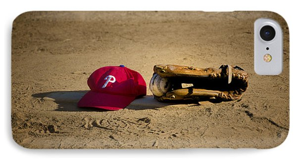 Now Pitching For The Phillies Phone Case by Bill Cannon