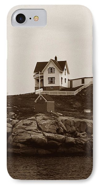 Nubble Light IPhone Case by Skip Willits