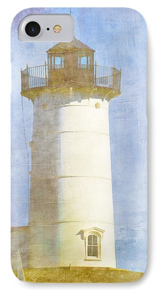 Nubble Lighthouse IPhone Case by Carol Leigh