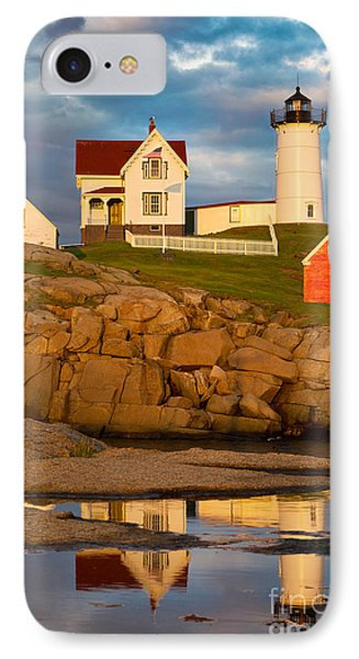 Nubble Lighthouse No 1 Phone Case by Jerry Fornarotto