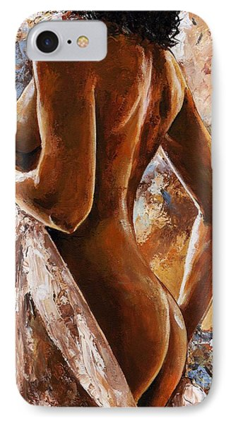 Nude 07 IPhone 7 Case by Emerico Imre Toth