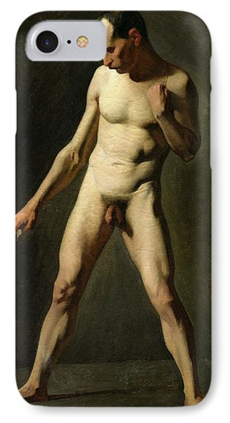 Nude Study IPhone Case by Jean-Francois Millet
