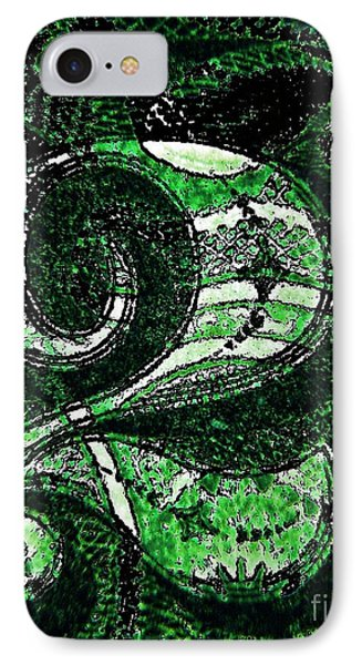 Number Two In Green  Phone Case by Chris Berry