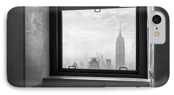 Nyc Room With A View IPhone Case by Nina Papiorek