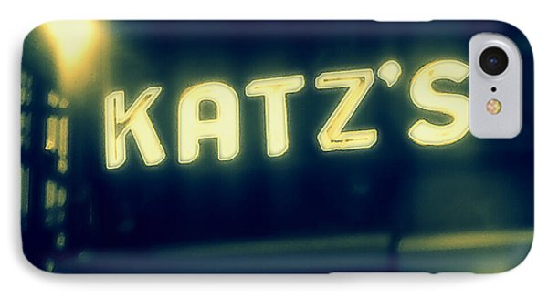 Nyc's Famous Katz's Deli IPhone 7 Case by Paulo Guimaraes
