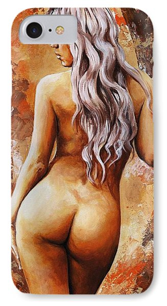 Nymph 02 IPhone Case by Emerico Imre Toth