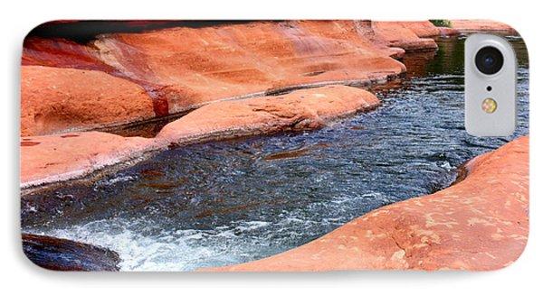 Oak Creek At Slide Rock Phone Case by Carol Groenen