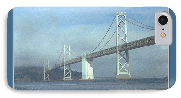 Oakland Bay Bridge - San Francisco Poster Art Phone Case by Art America Online Gallery