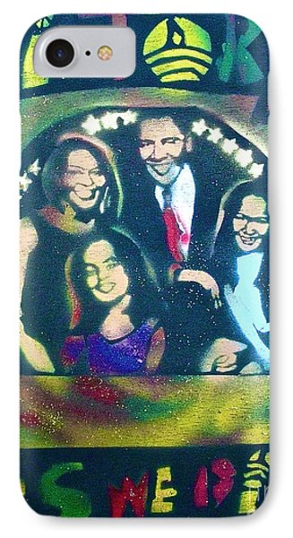 Obama Family Victory Phone Case by Tony B Conscious