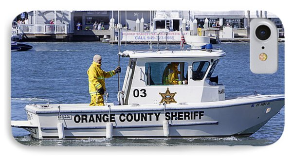 Oc Sheriff Ready For The Fire Phone Case by Shoal Hollingsworth