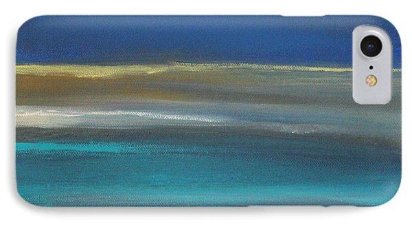 Ocean Blue 2 IPhone Case by Linda Woods